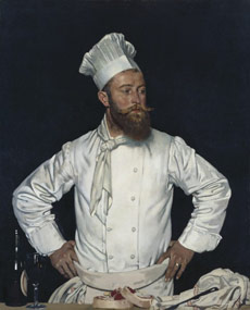 William Orpen - the chef from l'Hôtel Chatham